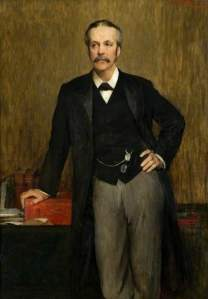 Lockhart, William Ewart, 1846-1900; The Right Honourable Arthur J. Balfour (1848-1930), MP