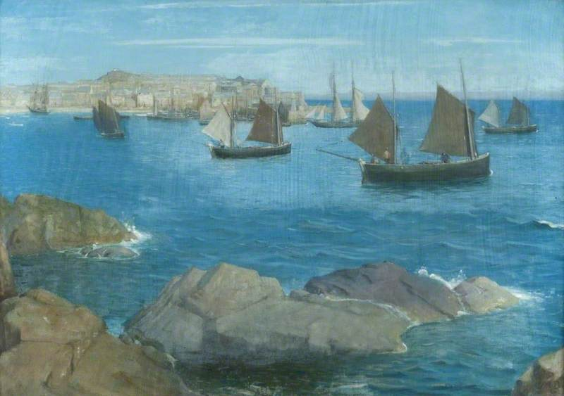 Dow, Thomas Millie, 1848-1919; St Ives, Cornwall