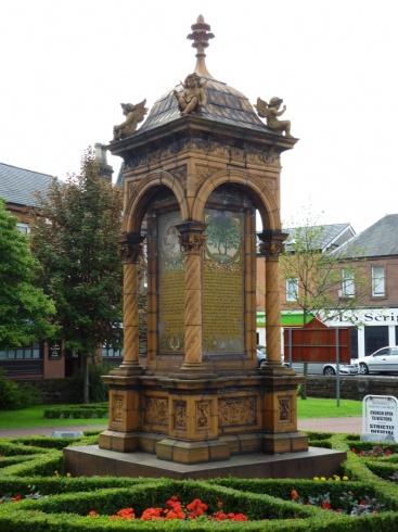 Monument to Joanna Baillie