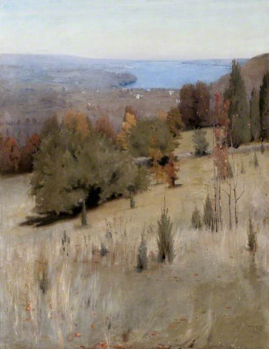 Dow, Thomas Millie, 1848-1919; The Hudson River