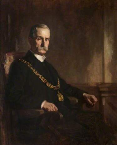 Anderson, James Bell, 1886-1938; Sir Daniel Macaulay Stevenson (1851-1944), Lord Provost of Glasgow (1911-1914)