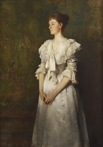 Portrait-of-Lady-Rowallan-in-White-210x300