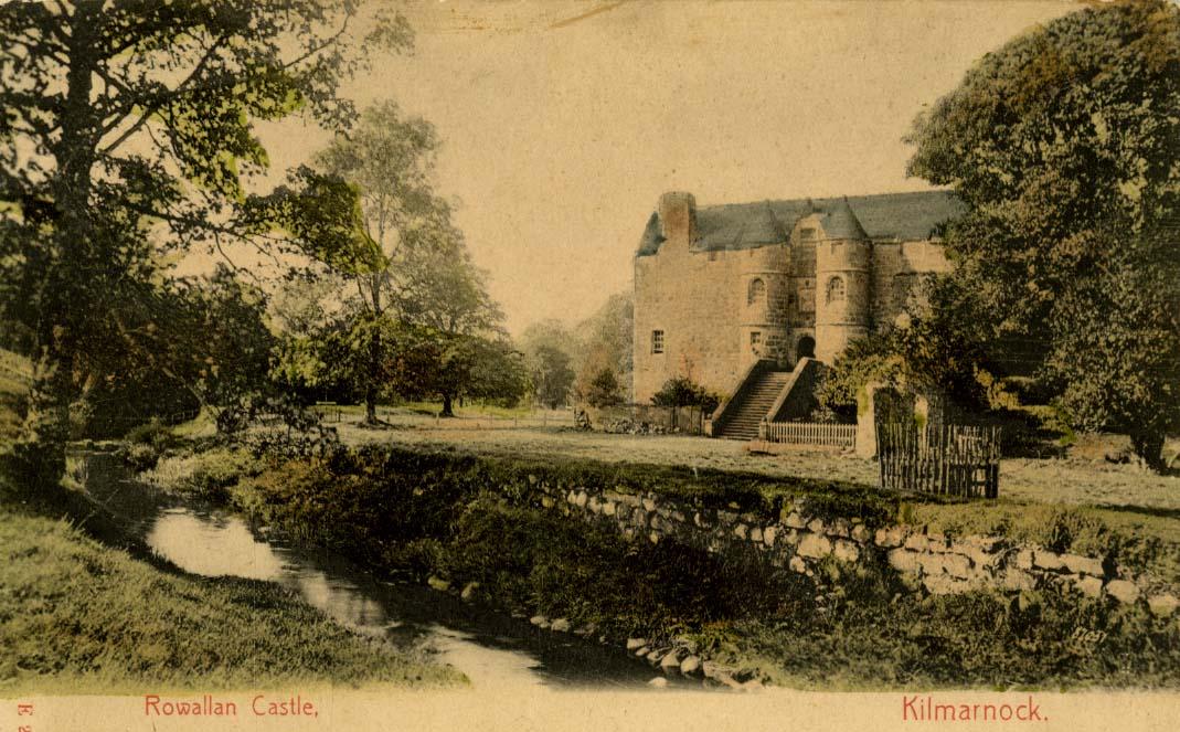 Rowallan Castle-old