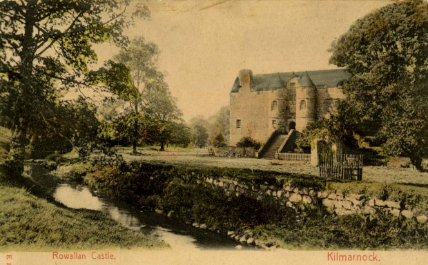 Rowallan Castle-old