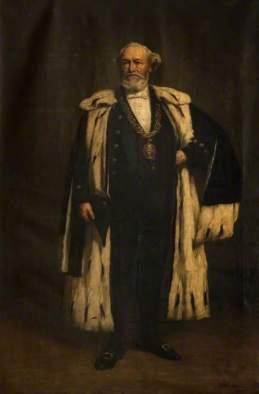 Henderson, Joseph, 1832-1908; Sir John Muir (1828-1903), Lord Provost of Glasgow (1889-1892)