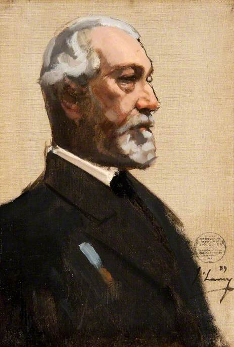 Lavery, John, 1856-1941; John Muir of Deanston (1828-1903), 1st Bt, Lord Provost of Glasgow (1889-1892)