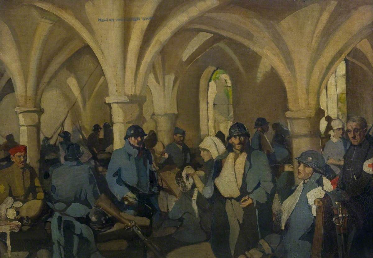 Gray, Norah Neilson, 1882-1931; Hopital Auxiliaire d'Armee 301 - Abbaye de Royaumont
