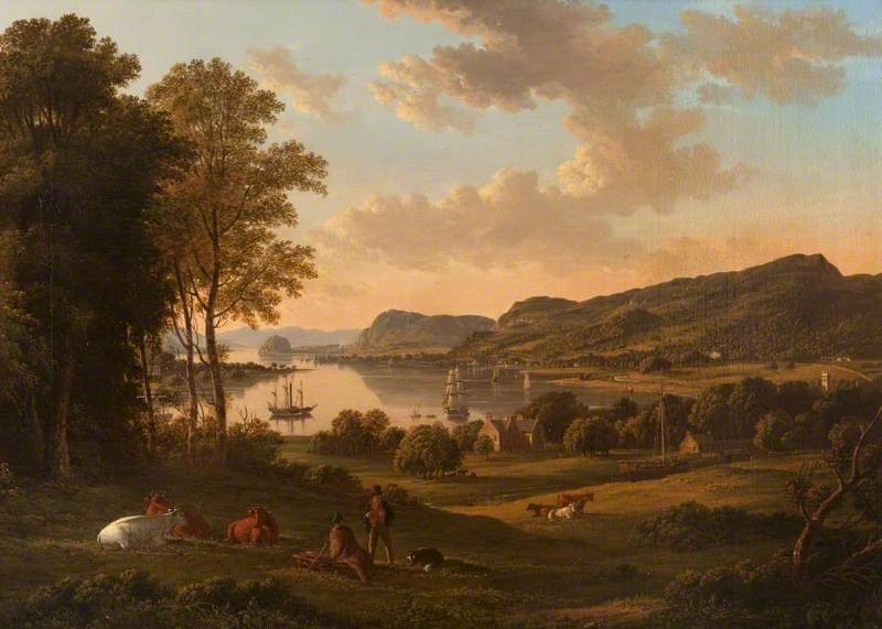 Knox, John, 1778-1845; The Clyde from Dalnottar Hill