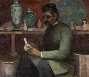 Lavery, John, 1856-1941; Potter at Work