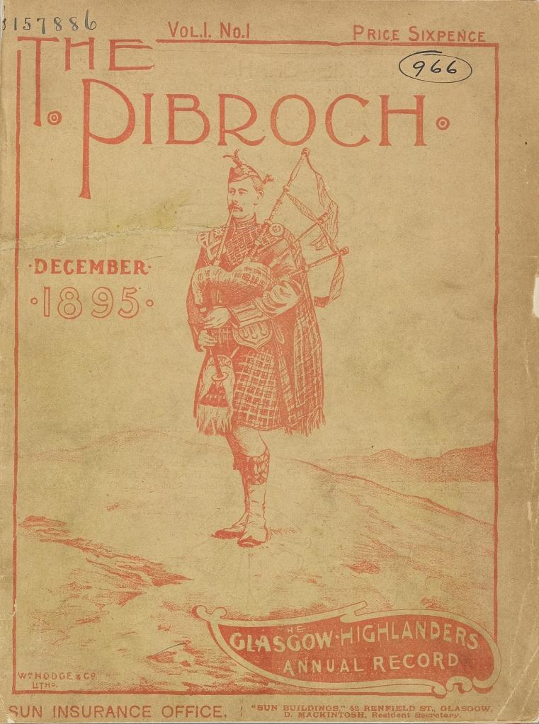 1. THE PIBROCH VOL1 NO1 DEC 1895 FRONT COVER (002)