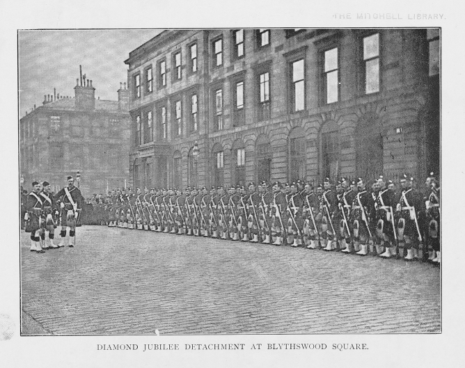 6. THE PIBROCH VOL1 NO3 DEC 1897 P19 DIAMOND JUBILEE DETACHMENT (002)