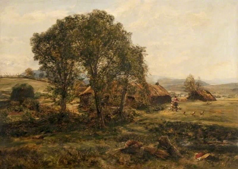 Highland Croft by Alexander Fraser (2)