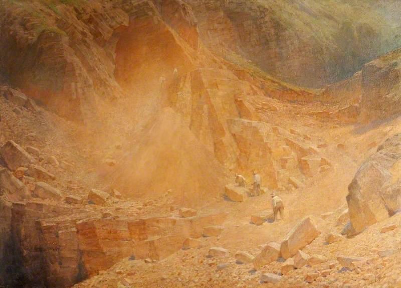 MacArthur, Lindsay Grandison, c.1866-1945; The Golden Quarry