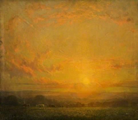 MacArthur, Lindsay Grandison, c.1866-1945; Pastorale, Evening