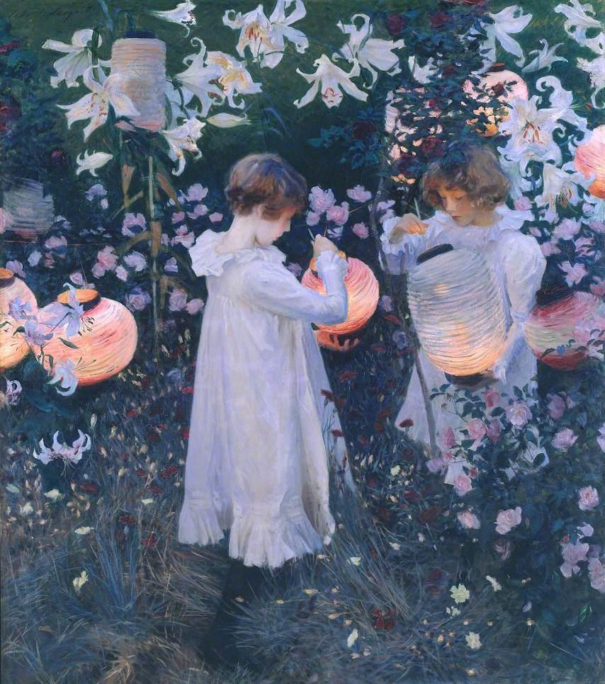 Sargent, John Singer, 1856-1925; Carnation, Lily, Lily, Rose