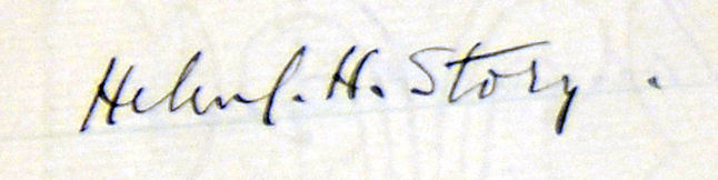 Sig on page from Hon LLD Record
