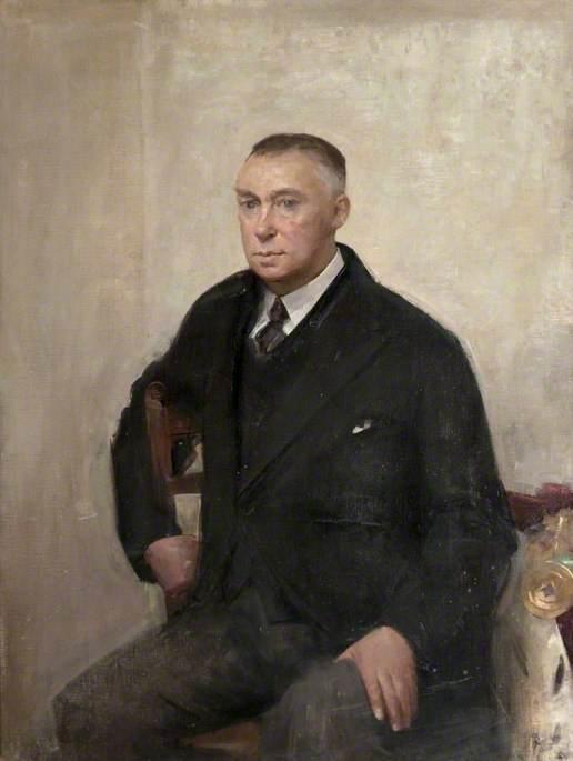 Moynihan, Rodrigo, 1910-1990; Sir Garnet Wilson (1885-1975)