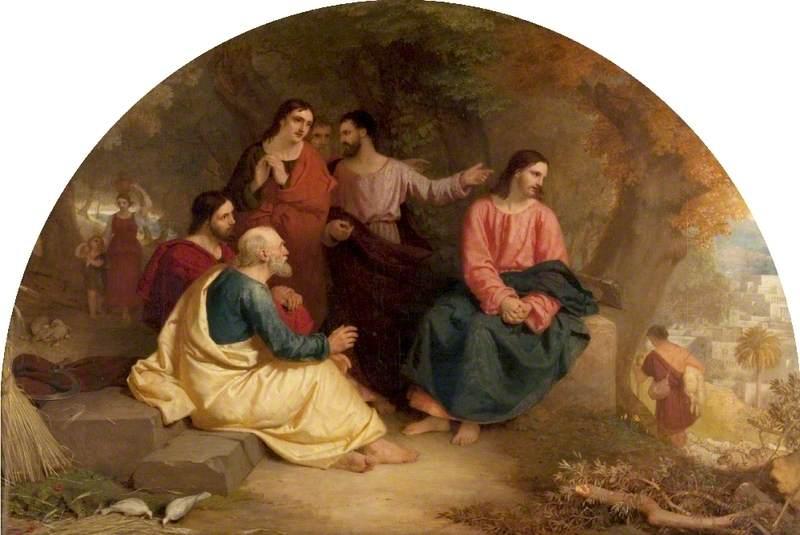 Eastlake, Charles Lock, 1793-1865; Christ Lamenting over Jerusalem